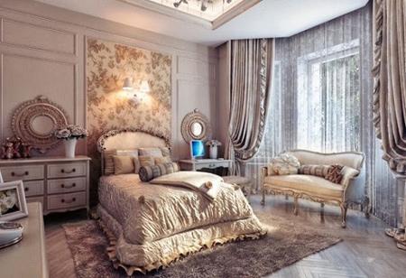 دکوراسیون مدرن اتاق خواب,دکوراسیون سلطنتی اتاق خواب
