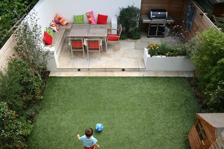 چیدمان بهاری محوطه حیاط,طراحی حیاط خلوت