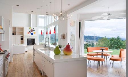 متریال کف آشپزخانه,کف پوش,کف پوش در دکوراسیون منزل
