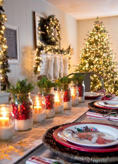 تزیینات کریسمس,ایده های تزیینات کریسمس