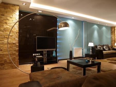 انتخاب مبلمان برای تماشای تلویزیون,بهترین مدل مبلمان کاناپه برای تماشای تلویزیون