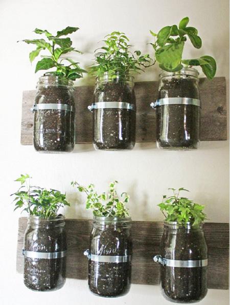 باغچه های سیار در دکوراسیون منزل,طراحی باغچه های جدید