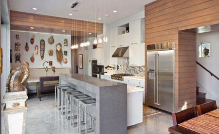 کف پوش آشپزخانه,مدل های کفپوش های آشپزخانه,تصاویر متریال کف آشپزخانه