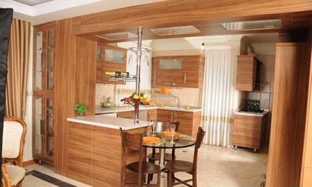 متریال کف آشپزخانه,کف پوش,دکوراسیون آشپز خانه