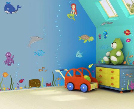 کاغذ دیواری کودک پسر,کاغذ دیواری کودک و نوجوان,طرح کاغذ دیواری کودک