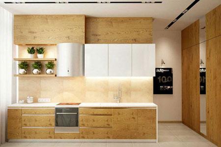 دکوراسیون آشپزخانه ساده, مدل آشپزخانه سفید