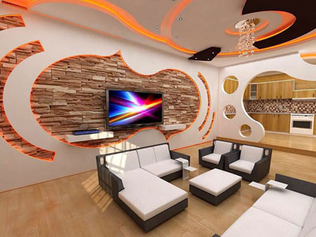 مدل کناف سقف,مزایای کناف