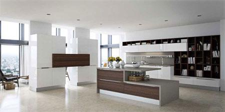 دکوراسیون آشپزخانه سفید, مدل هایی از آشپزخانه های جدید