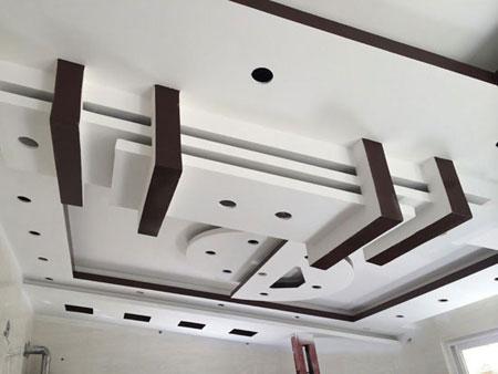 مزایا و معایب انواع سقف های کاذب,مدل سقف کناف
