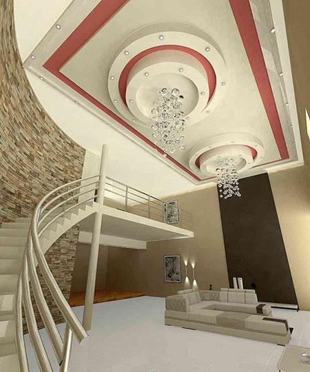 کناف سقف جدید و مدرن,مدل سقف های جدید و مدرن