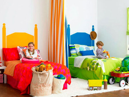 دکوراسیون و چیدمان اتاق مشترک کودکان, نکاتی برای چیدمان اتاق مشترک کودکان