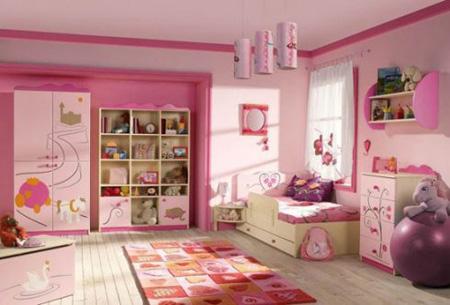 رنگ های مناسب اتاق بچه ها,رنگ آمیزی اتاق کودکان