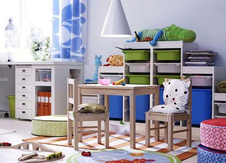 نکاتی برای طراحی اتاق مشترک کودکان,اتاق مشترک کودکان