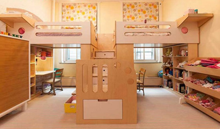 طراحی اتاق کودکان, چیدمان اتاق مشترک کودکان