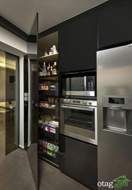 دکوراسیون آشپزخانه های فوق مدرن در بالاترین سطح تکنولوژی
