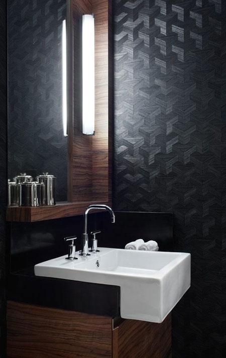 انتخاب بهترین رنگ برای دیوارها,استفاده از رنگ های تیره در دکوراسیون داخلی