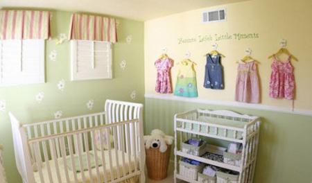 طراحی و چیدمان اتاق نوزاد, ایده هایی برای طراحی اتاق نوزاد