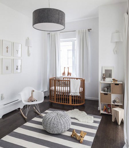 ایده هایی برای طراحی اتاق نوزاد, انتخاب رنگ اتاق نوزاد