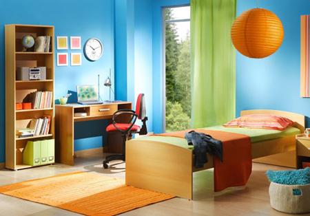 انتخاب کاغذ دیواری اتاق کودک,تکنیک های چیدمان اتاق کودک