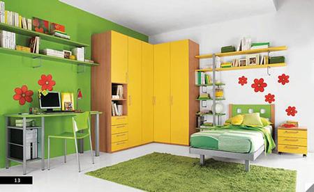 طراحی اتاق کودک, طراحی داخلی اتاق کودک