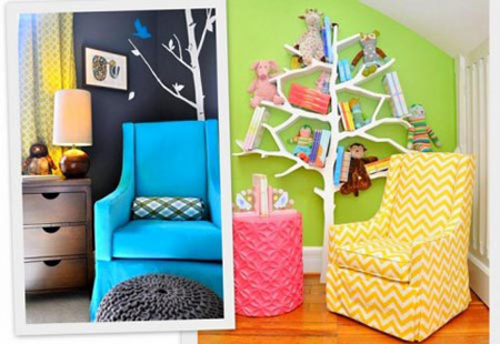 طراحی اتاق کودک,جزئیاتی برای دکوراسیون اتاق کودک