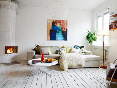 دکوراسیون داخلی خانه,نحوه رنگ کردن کفپوش ها
