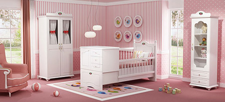 دکوراسیون اتاق کودک, دکوراسیون و چیدمان اتاق کودک