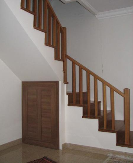 نرده راه پله,نرده چوبی راه پله