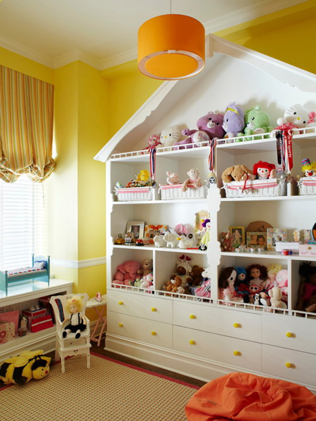 نحوه چیدمان اسباب بازی کودکان, اصول چیدمان اتاق کودکان