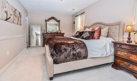 اصول نظم در اتاق خواب,موقعیت تختخواب در فنگ شویی