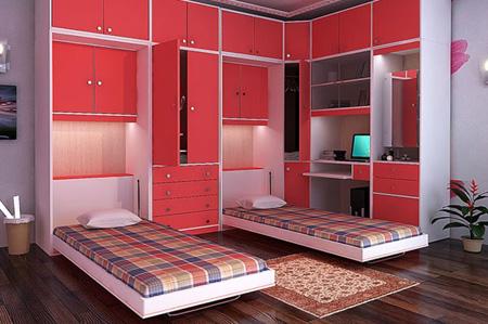 چیدمان اتاق خواب کوچک, بزرگ کردن اتاق خواب های کوچک
