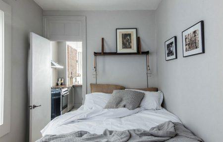 دکوراسیون اتاق خواب های کوچک,دکوراسیون و چیدمان اتاق خواب های کوچک