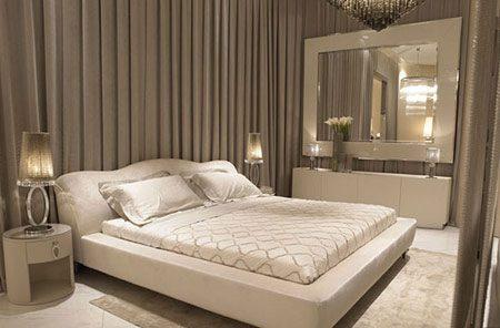 چیدمان تخت در اتاق خواب,قرار دادن تخت در اتاق خواب