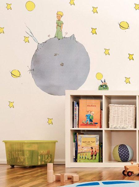 طراحی و چیدمان اتاق کودکان با تم شازده کوچولو, خانه ای با تم شازده