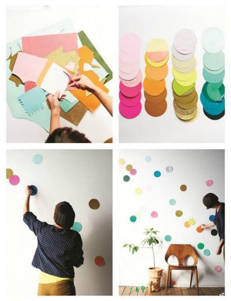 ایده هایی برای تزیین اتاق,تزیین دیوار اتاق کودک