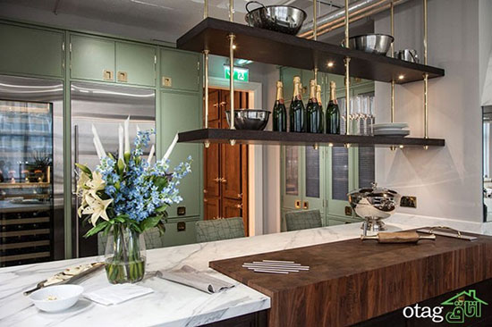 ایده های جدید در طراحی آشپزخانه مطابق با مد روز دنیا