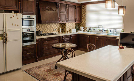 اصول و نحوه تغییر دکوراسیون آشپزخانه, طراحی آشپزخانه