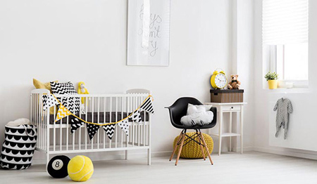 تکنیک های چیدمان اتاق نوزاد, نکاتی کلیدی برای دکوراسیون اتاق نوزاد