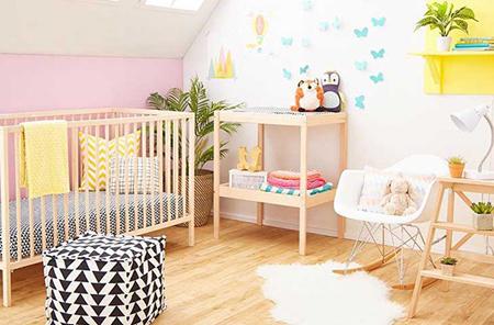 طراحی اتاق نوزاد, دکوراسیون و چیدمان اتاق نوزاد