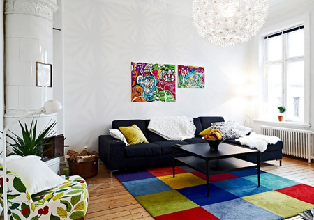اکسسوری های رنگی منزل,آشنایی با آثار هنری رنگی