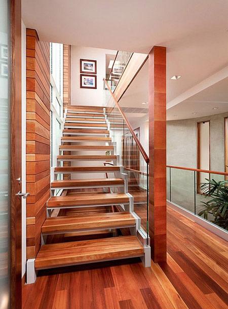 انواع چوب در طراحی خانه,دکوراسیونی متفاوت با چوب